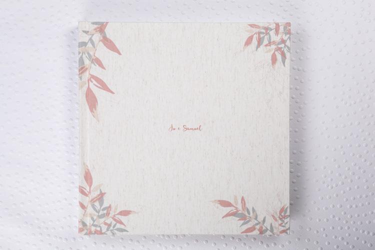 Capa Tecido Soft Lonita Cru + Impressão Colorida + Laminação Matte Satim